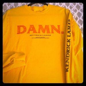 Other - Kendrick Lamar Yellow DAMN. Shirt